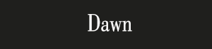 Dawn newspaper