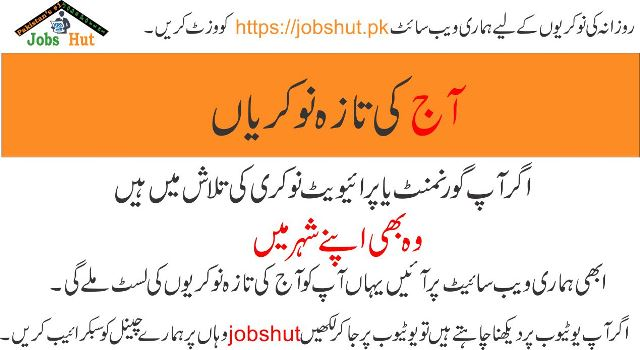 Government jobs in Pakistan, Government jobs, Government